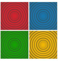 pop art retro cartoon circles looney movie vector image