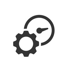Productivity efficiency icon vector