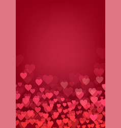 valentine day wedding love postcard romantic vector image