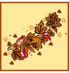 Autumn Floral vector image