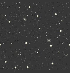 seamless pattern star design for christmas vector image vector image