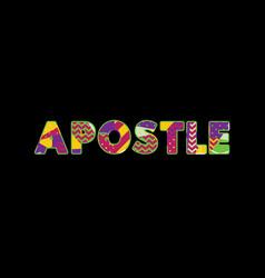 Apostle concept word art vector