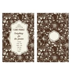 Book cover design vector image