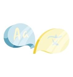 English Japan translation concept icon vector