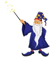 funny santa claus cartoon vector image