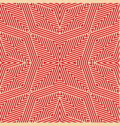 Geometric lines pattern seamless background in vector