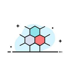 molecular structure medical health business logo vector image