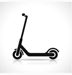 scooter icon design vector image