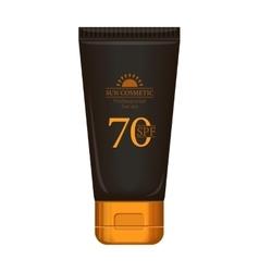 Sun Cream Professional Series vector