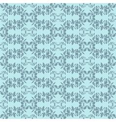 Neutral blue plant wallpaper vector image