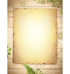 vintage grunge burnt paper vector image vector image