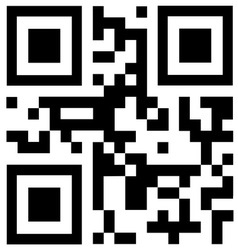 qr code says BEST BUY vector image