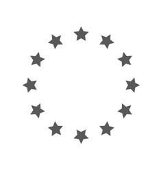 european union icon simple vector image vector image