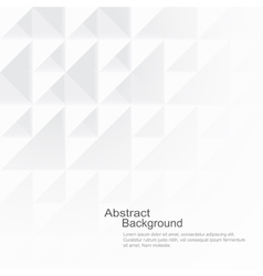 Abstract background with white shapes vector image