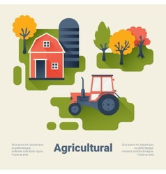 Agricultural Industry Concept vector