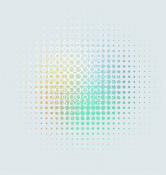 gray abstract background dots pastel colors vector image