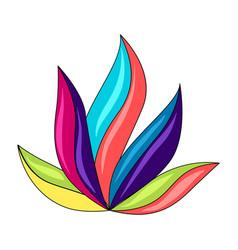 Mexican ornamental plant vector