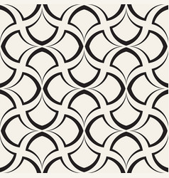 seamless rounded lines pattern abstract vector image