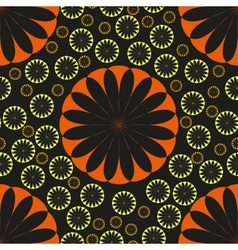 Flower Seamless Pattern Seamless texture vector image vector image