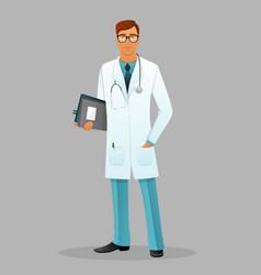 Doctor men vector image
