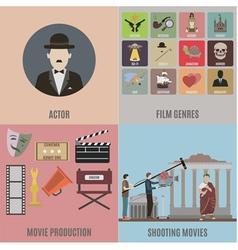 ActorSet vector image