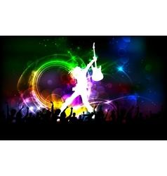 Rock Dancer vector image