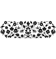 Artistic ottoman pattern series fourty one vector