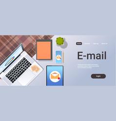 Envelope digital marketing e-mail inbox message vector