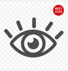 eye icon graphic eye concept minimalistic vector image