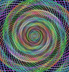 Fractal Design Patterned Background vector