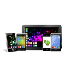 Mobile electronics vector image