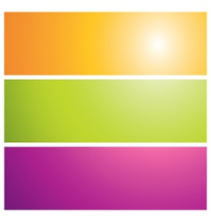Sunburst banners illustration vector