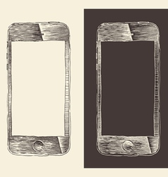 Smart Phone iPhone smartphone mobile tablet vector image