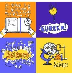 Science Design Concept vector image