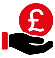 British Pound Coin Payment Icon vector