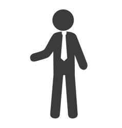 Businessman avatar profile vector