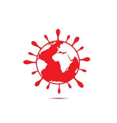 Coronavirus 2019-ncov icon vector
