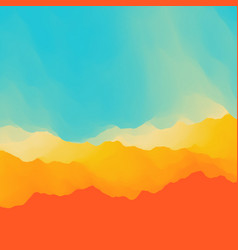 desert sky abstract background vector image