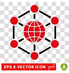 Global Web Eps Icon vector