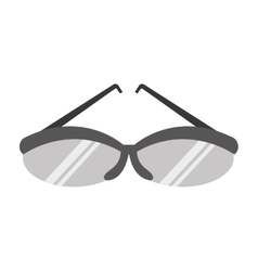 golf glasses equipemnt icon vector image