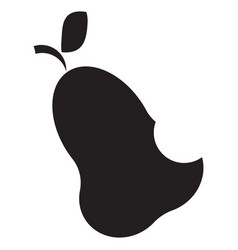 icon with pear vector image