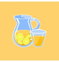 Jug Of Lemonade vector