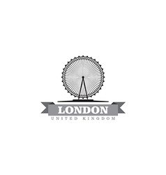 London United Kingdom city symbol vector image