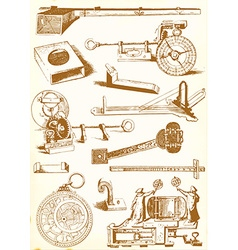 Medieval technology and Industry - pack vector