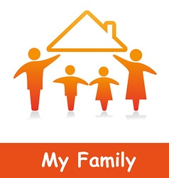 MyFamily vector image
