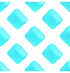 Sky blue geometric seamless pattern vector image