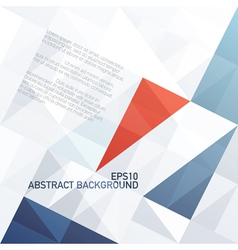 abstract diamond shaped pattern background vector image
