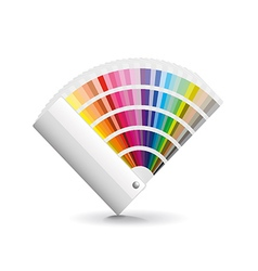Fan color isolated on white vector image