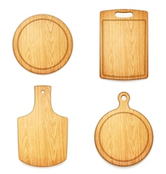 set of boards vector image
