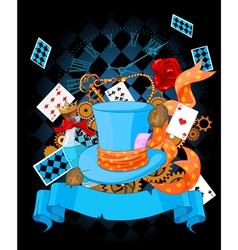 Wonderland design vector image vector image